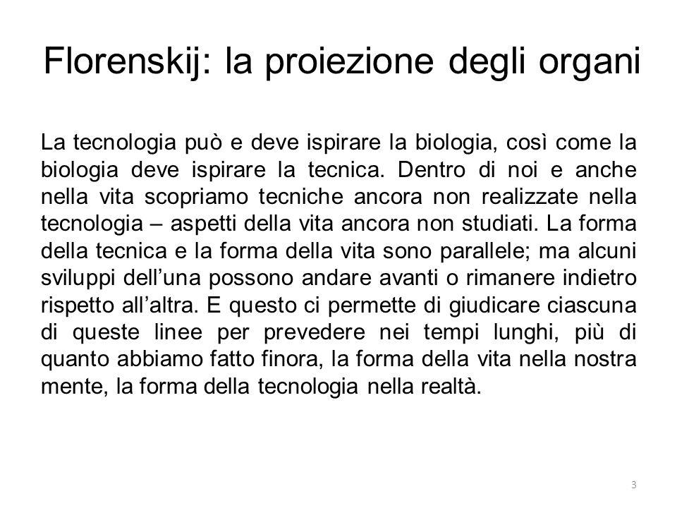 Florenskij: la proiezione degli organi