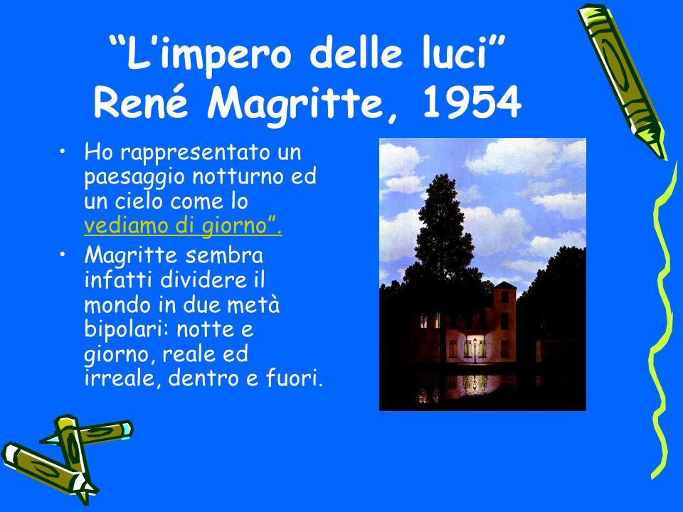 L'impero delle luci René Magritte, 1954