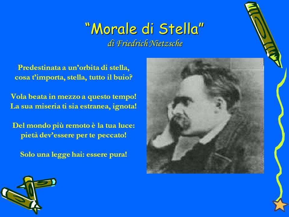 Morale di Stella di Friedrich Nietzsche