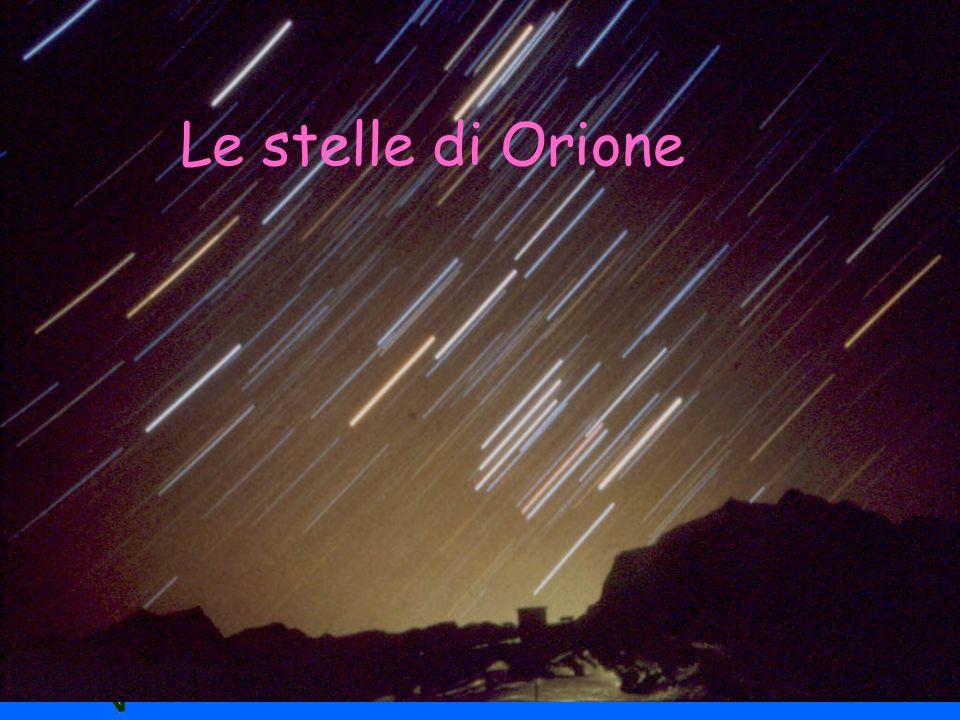 Le stelle di Orione
