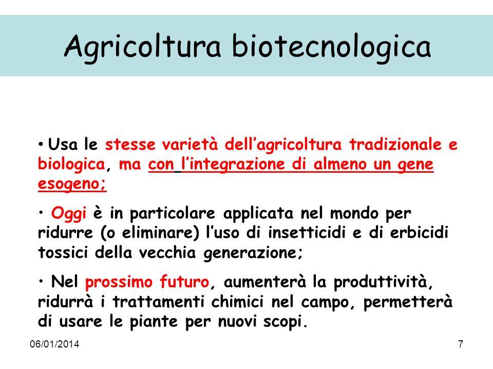 Agricoltura biotecnologica