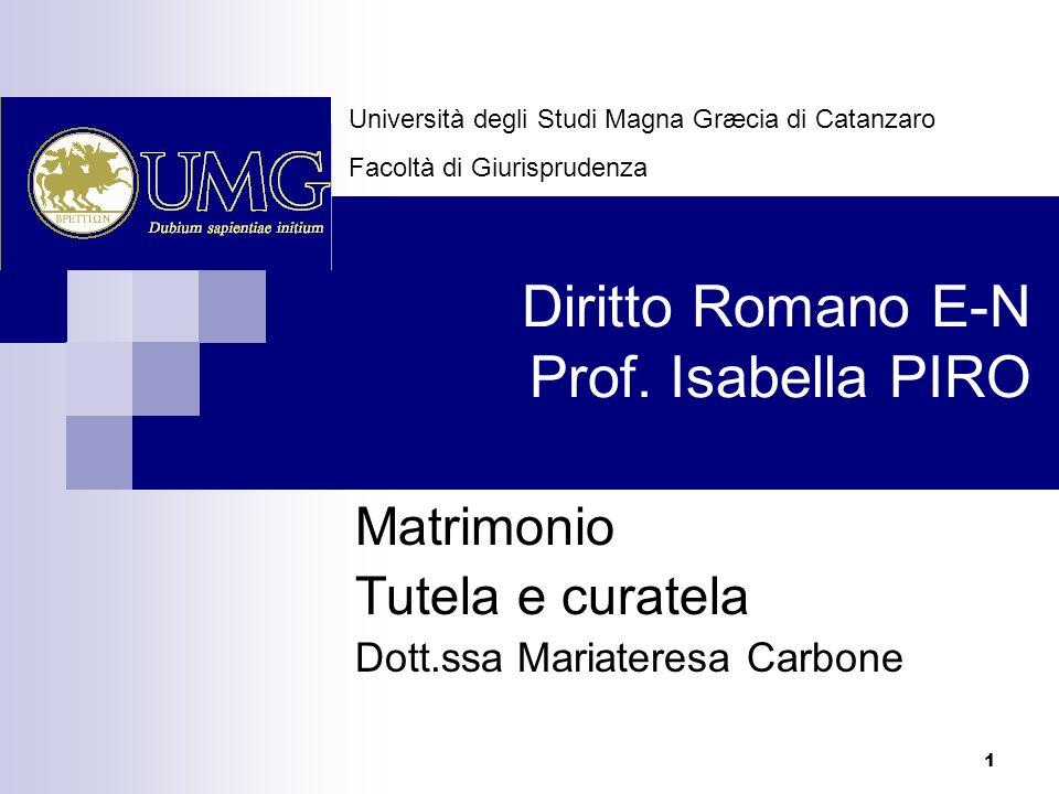 Matrimonio Diritto Romano : Diritto romano e n prof isabella piro ppt scaricare