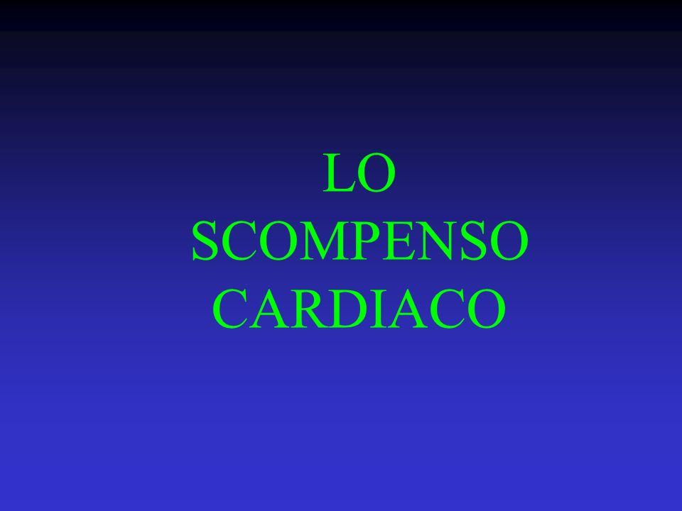 LO SCOMPENSO CARDIACO