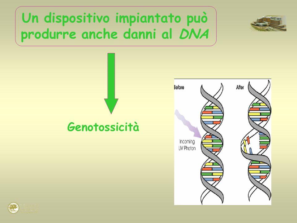Un dispositivo impiantato può produrre anche danni al DNA