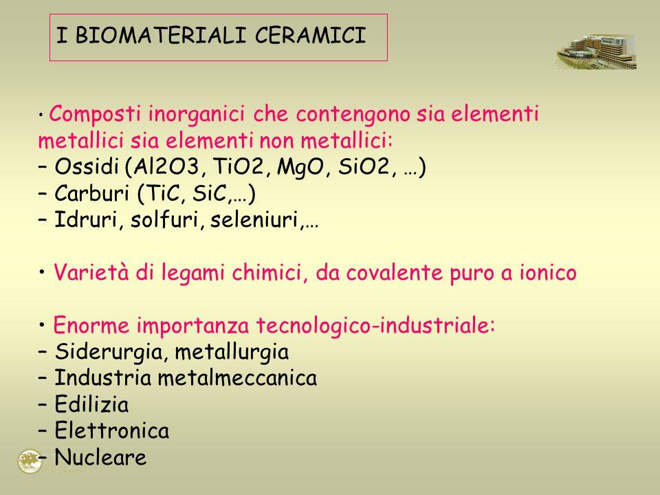 I BIOMATERIALI CERAMICI