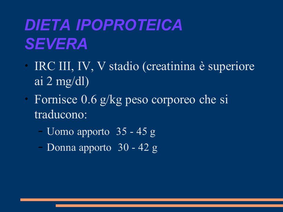 DIETA IPOPROTEICA SEVERA