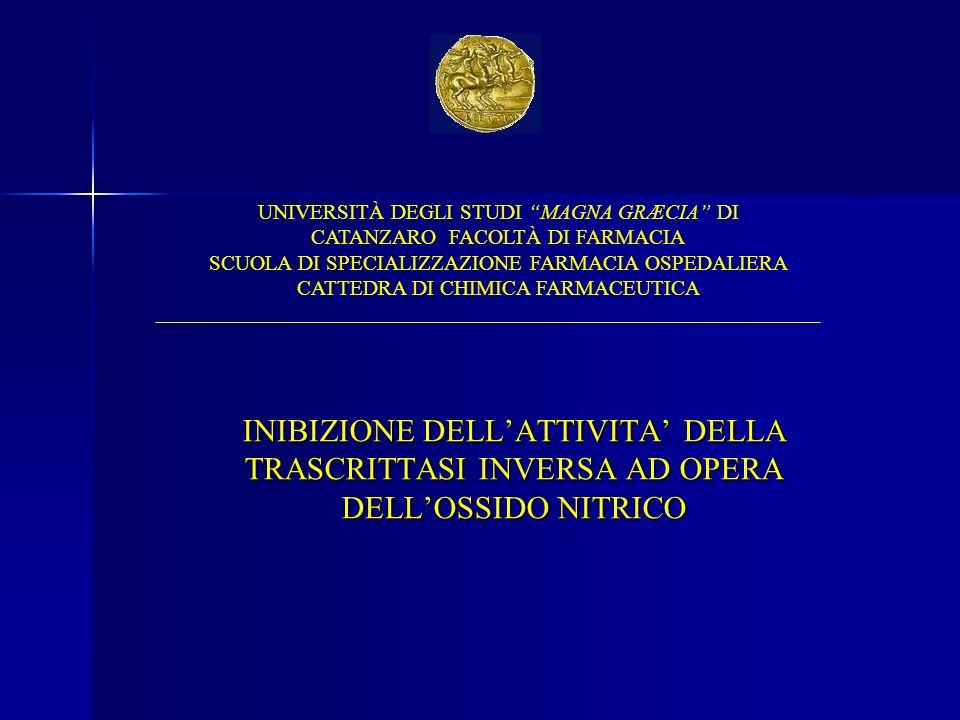 UNIVERSITÀ DEGLI STUDI MAGNA GRÆCIA DI CATANZARO FACOLTÀ DI FARMACIA