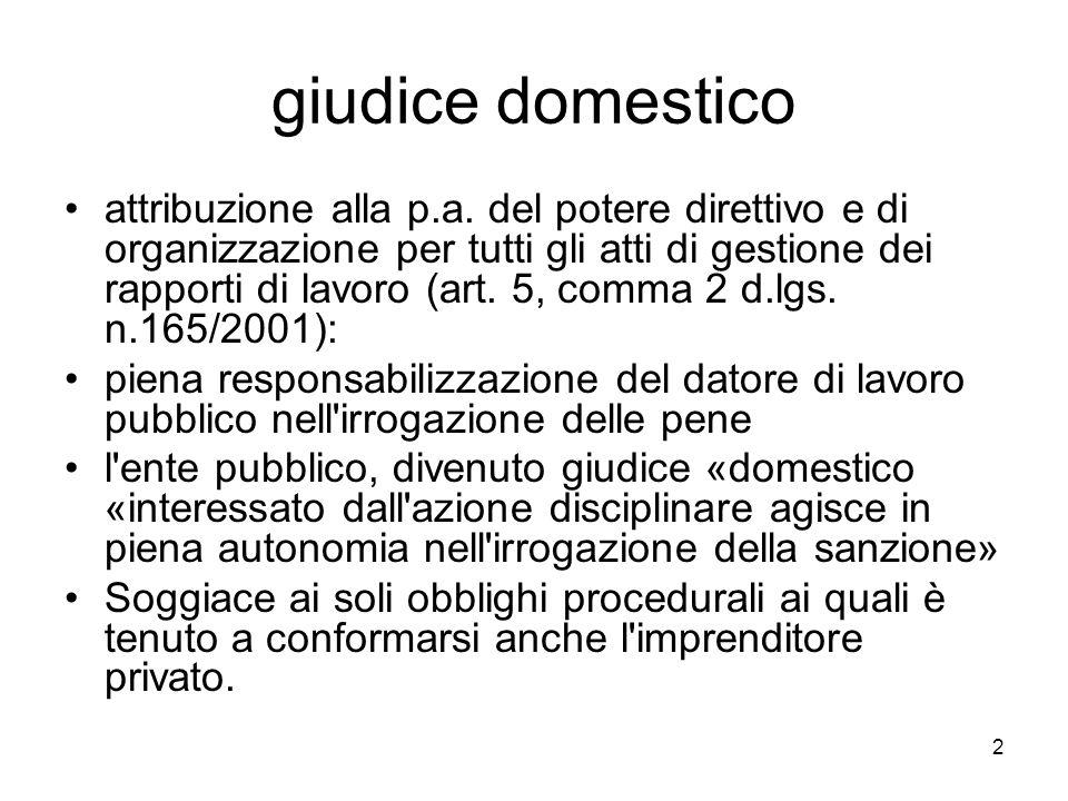 giudice domestico