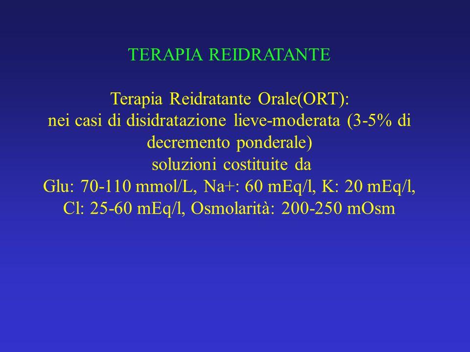 Terapia Reidratante Orale(ORT):