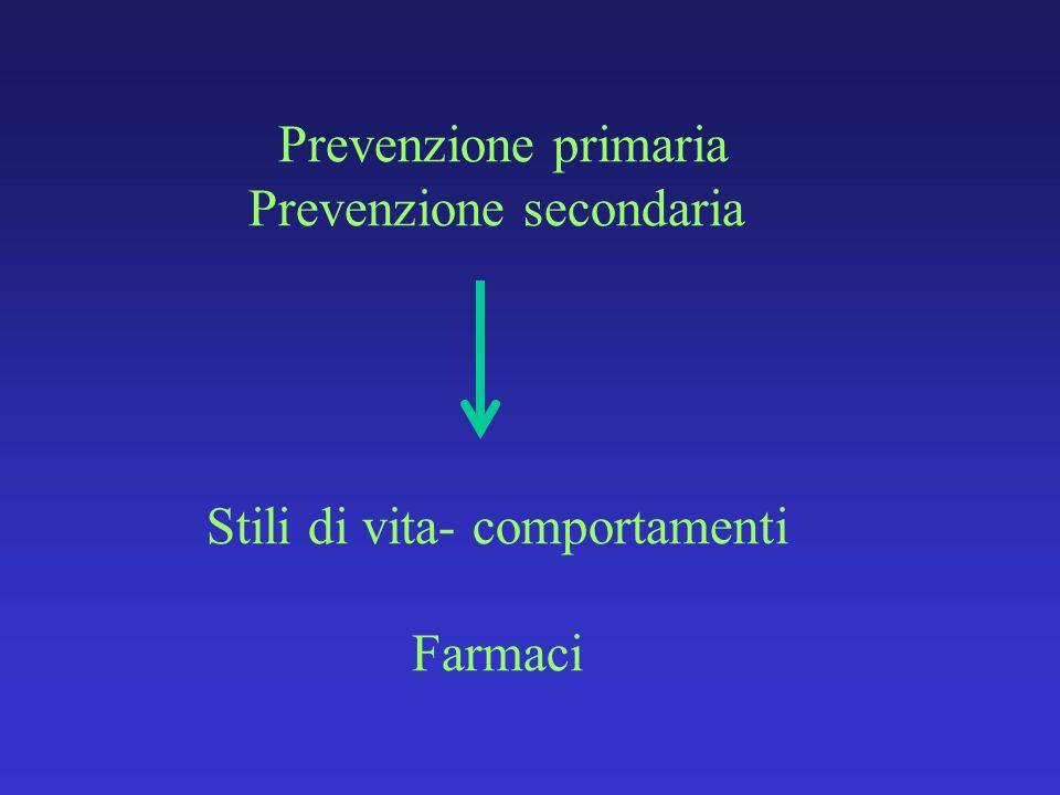 Prevenzione secondaria