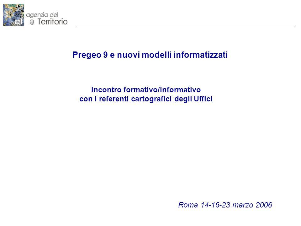Pregeo 9 e nuovi modelli informatizzati