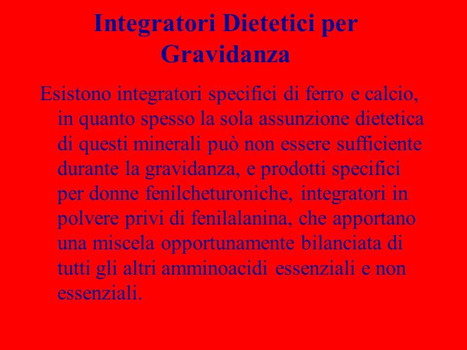 Integratori Dietetici per Gravidanza