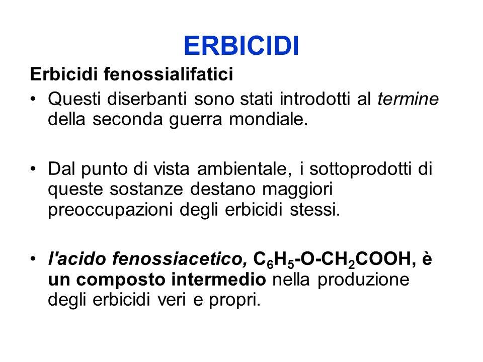 ERBICIDI Erbicidi fenossialifatici