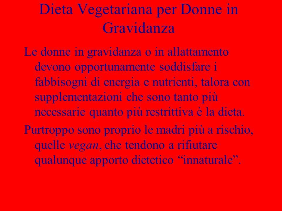 Dieta Vegetariana per Donne in Gravidanza