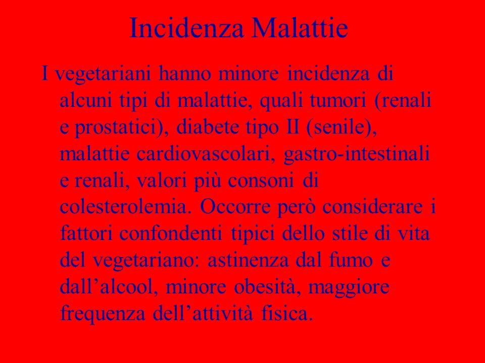 Incidenza Malattie