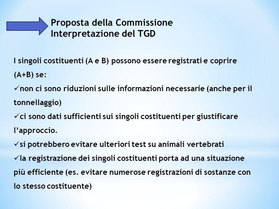 Proposta della Commissione Interpretazione del TGD