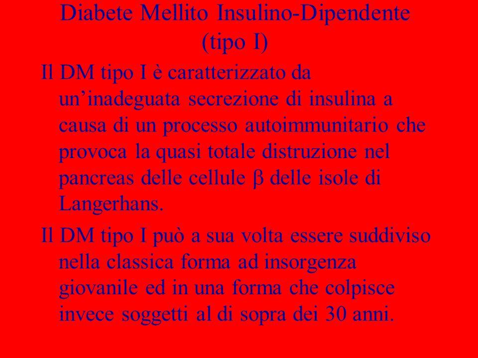Diabete Mellito Insulino-Dipendente (tipo I)