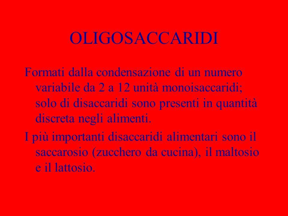 OLIGOSACCARIDI
