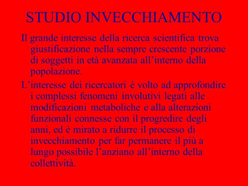 STUDIO INVECCHIAMENTO