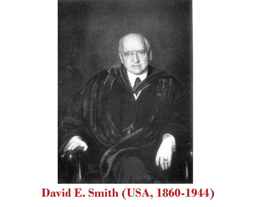 David E. Smith (USA, 1860-1944) 3