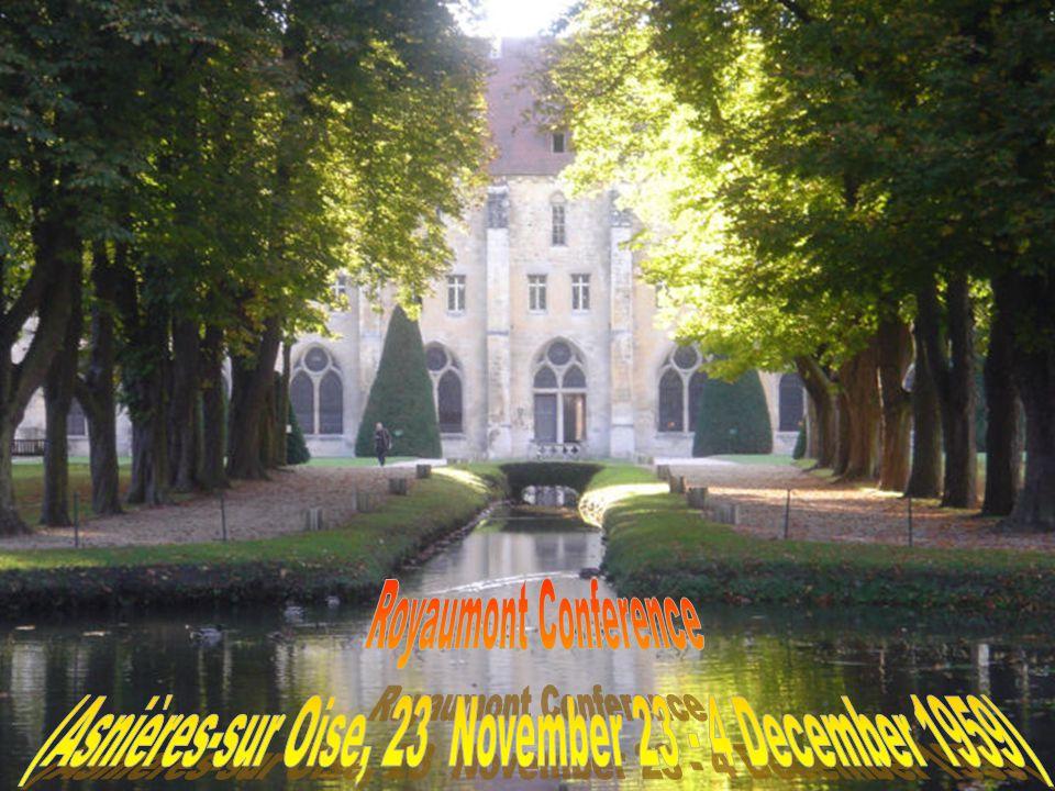 (Asnières-sur Oise, 23 November 23 - 4 December 1959)