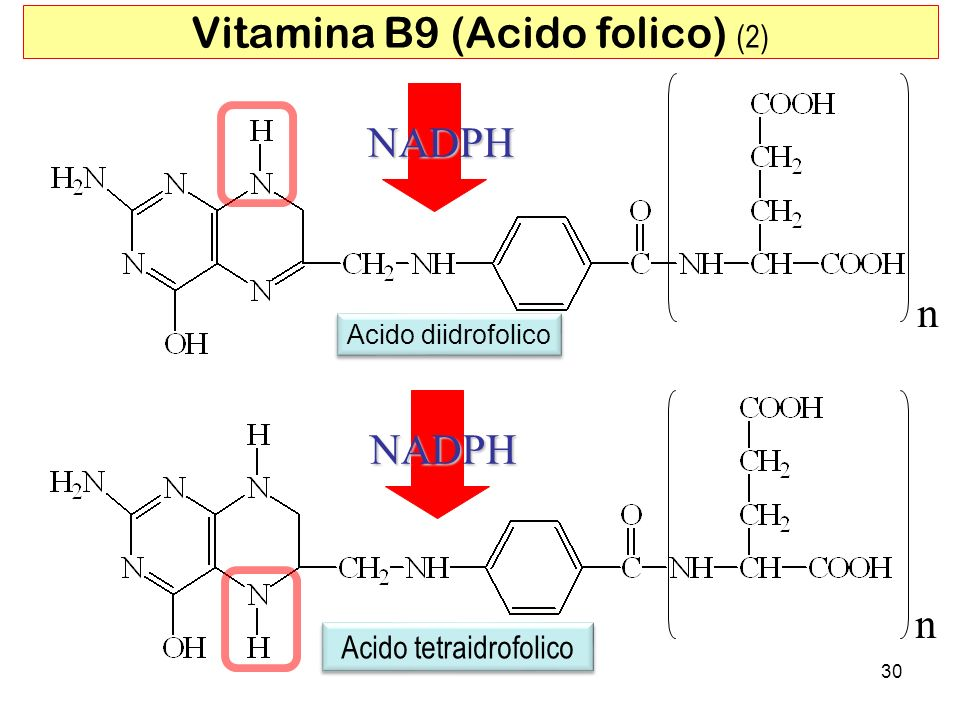 Vitamina B9 (Acido folico) (2)