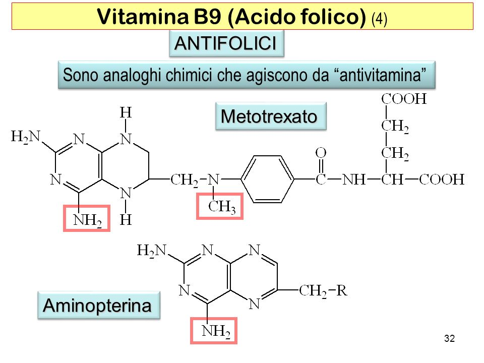 Vitamina B9 (Acido folico) (4)