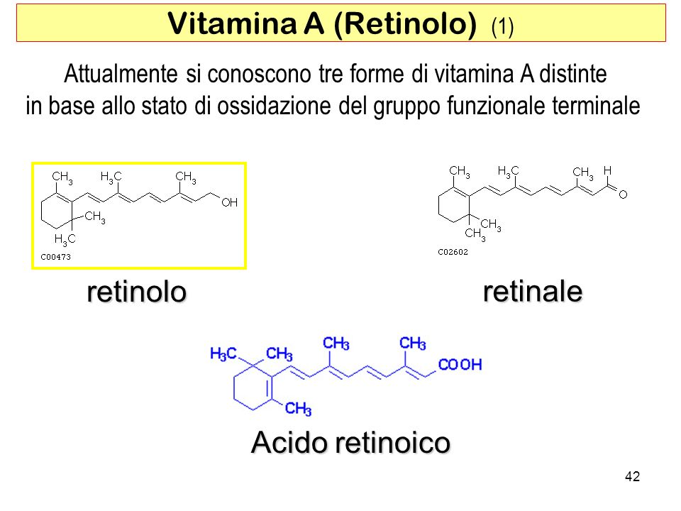 Vitamina A (Retinolo) (1)