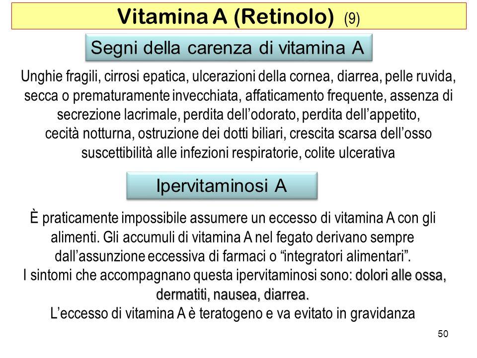 Vitamina A (Retinolo) (9)
