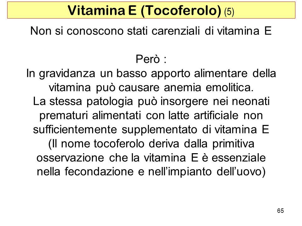 Vitamina E (Tocoferolo) (5)