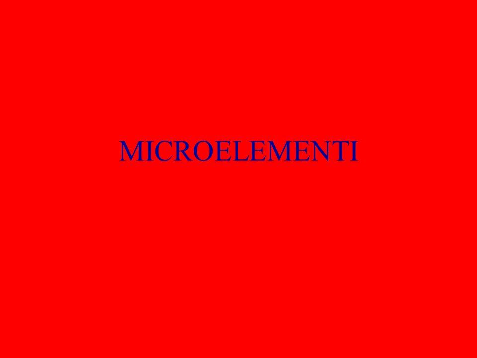 MICROELEMENTI