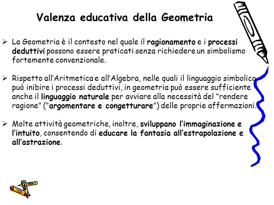 Valenza educativa della Geometria