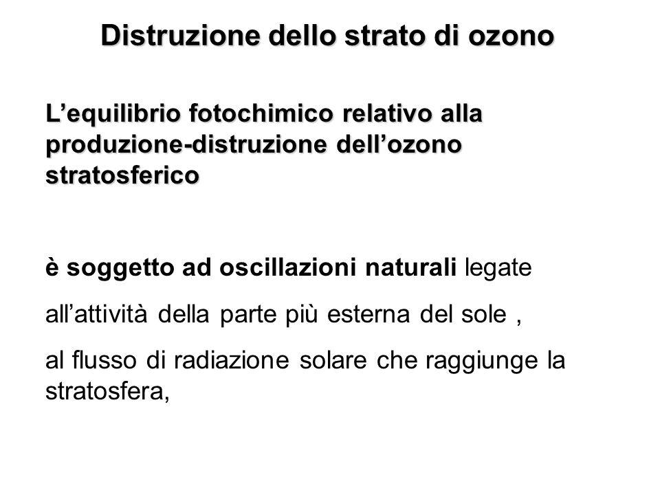 Distruzione dello strato di ozono