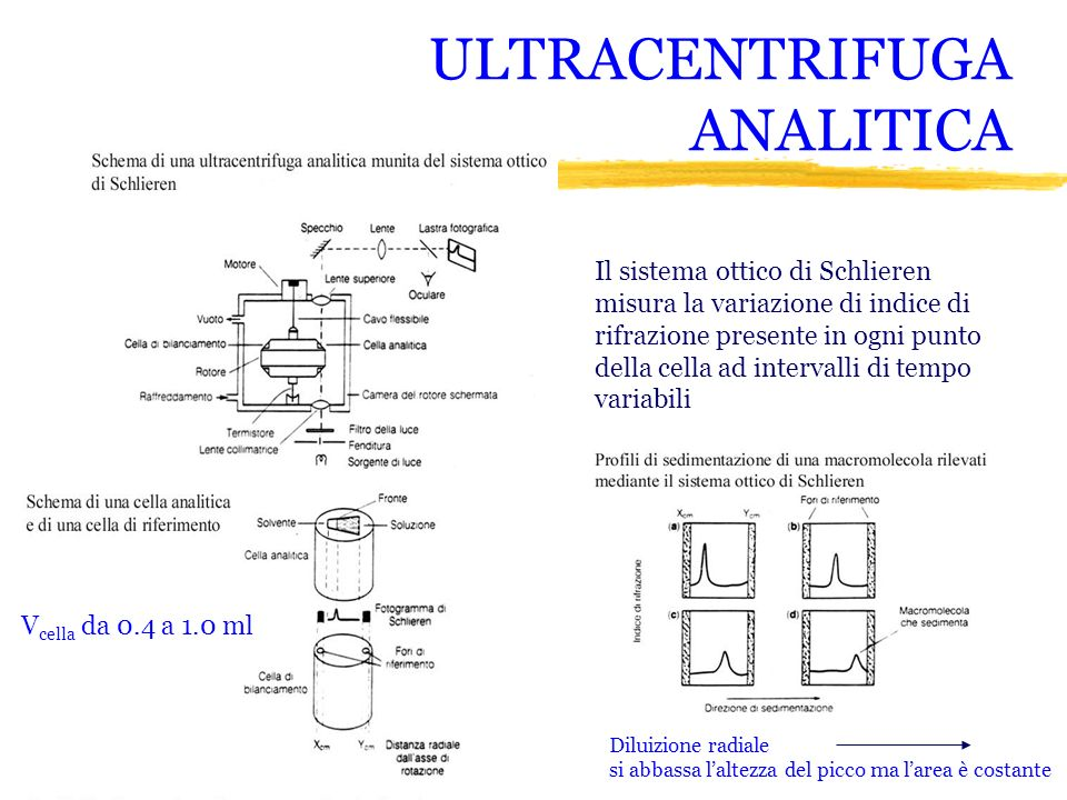 ULTRACENTRIFUGA ANALITICA
