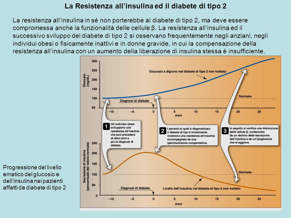 La Resistenza all'insulina ed il diabete di tipo 2
