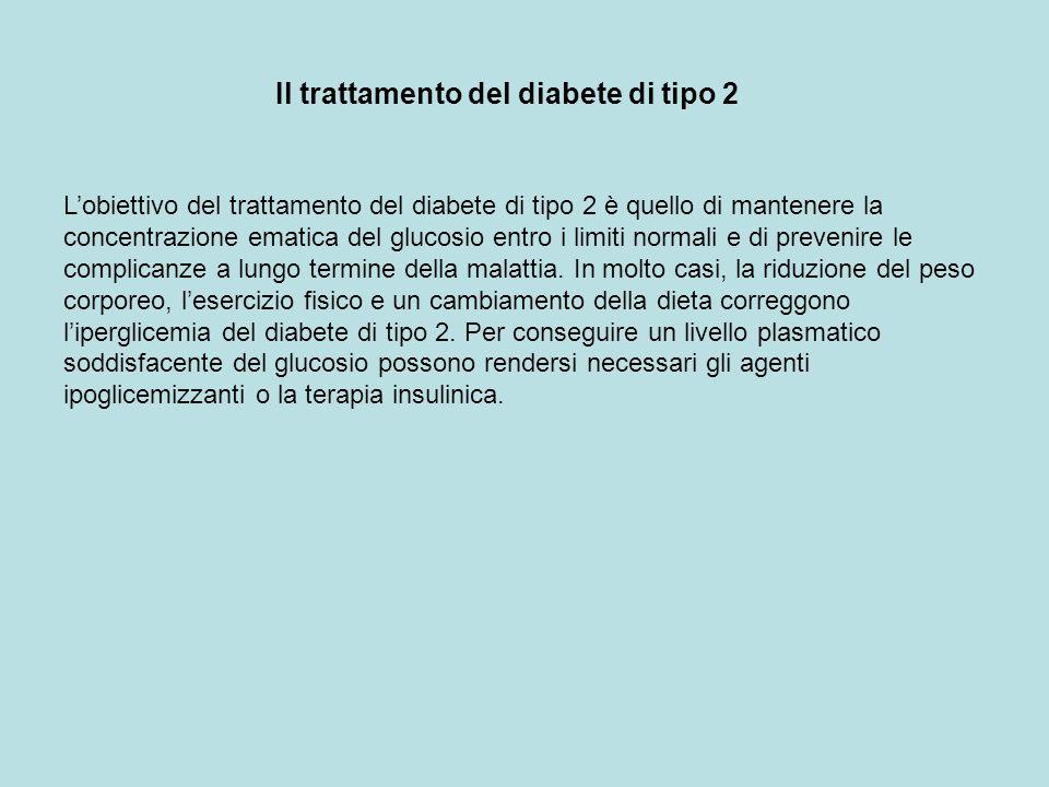 Il trattamento del diabete di tipo 2