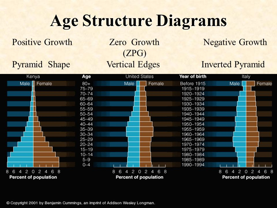 Age Structure Diagrams