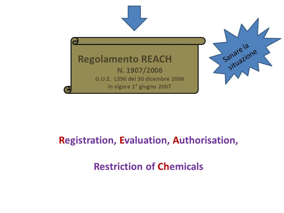 Registration, Evaluation, Authorisation, Restriction of Chemicals