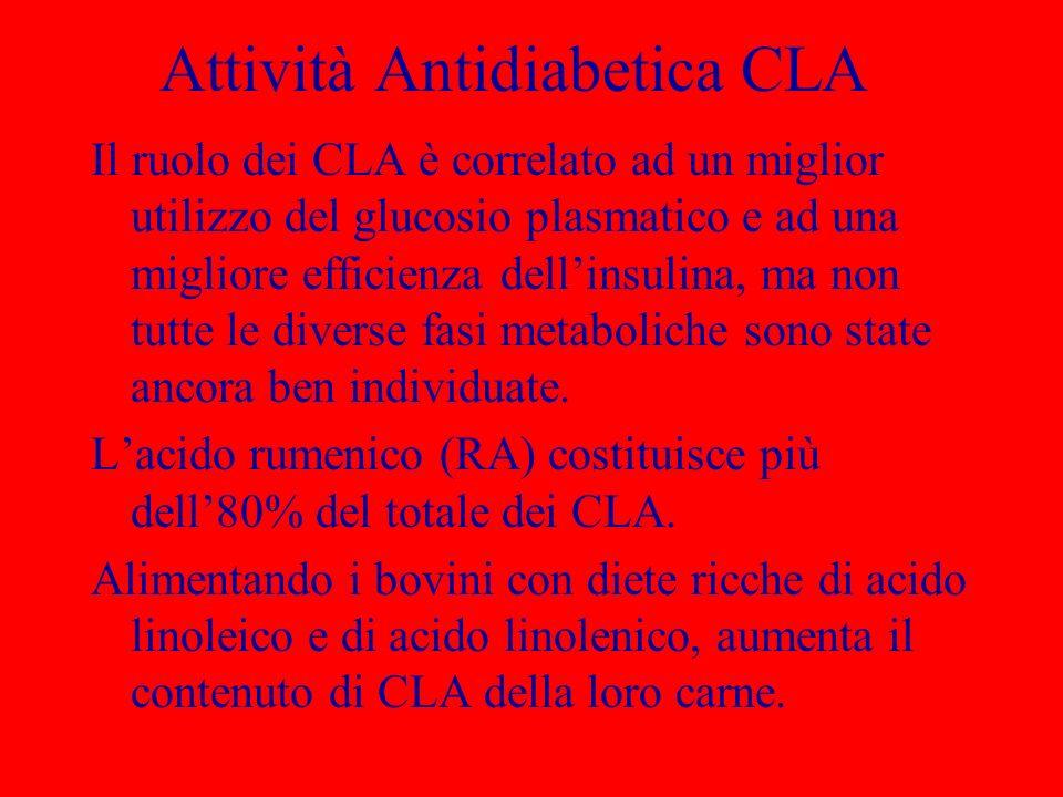 Attività Antidiabetica CLA