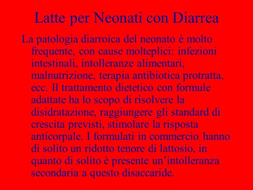 Latte per Neonati con Diarrea