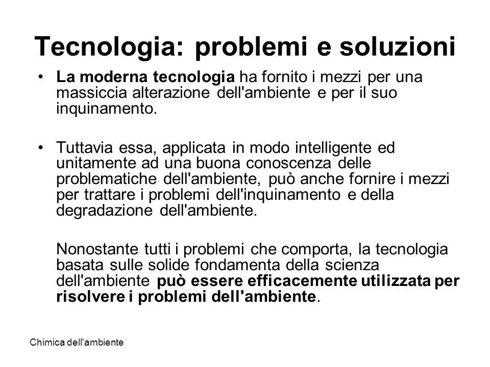 Tecnologia: problemi e soluzioni