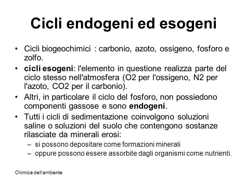 Cicli endogeni ed esogeni