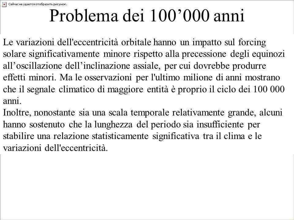 Problema dei 100'000 anni