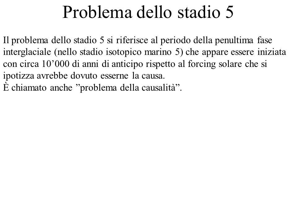 Problema dello stadio 5