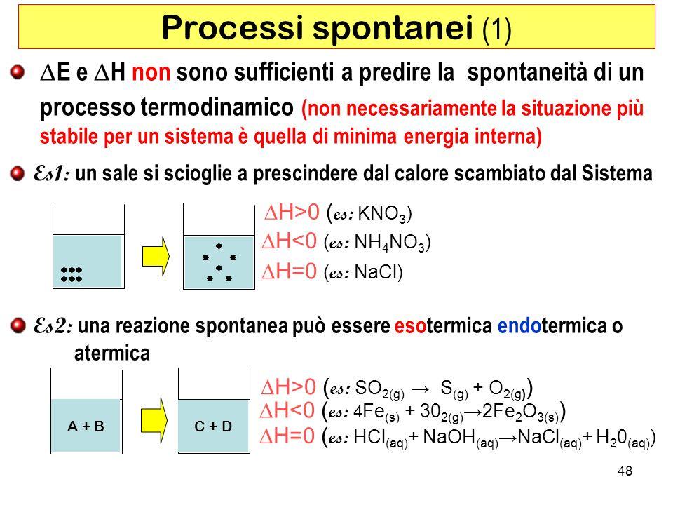 Processi spontanei (1)