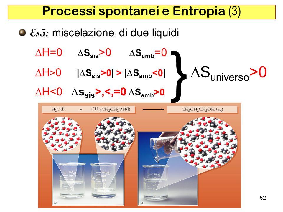 Processi spontanei e Entropia (3)