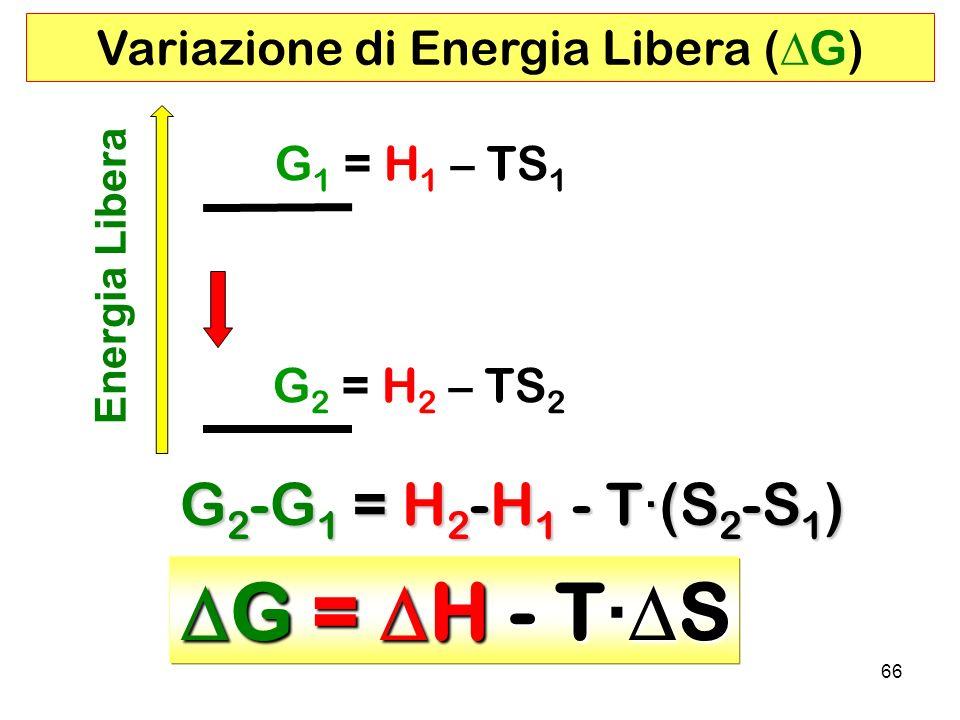 Variazione di Energia Libera (DG)
