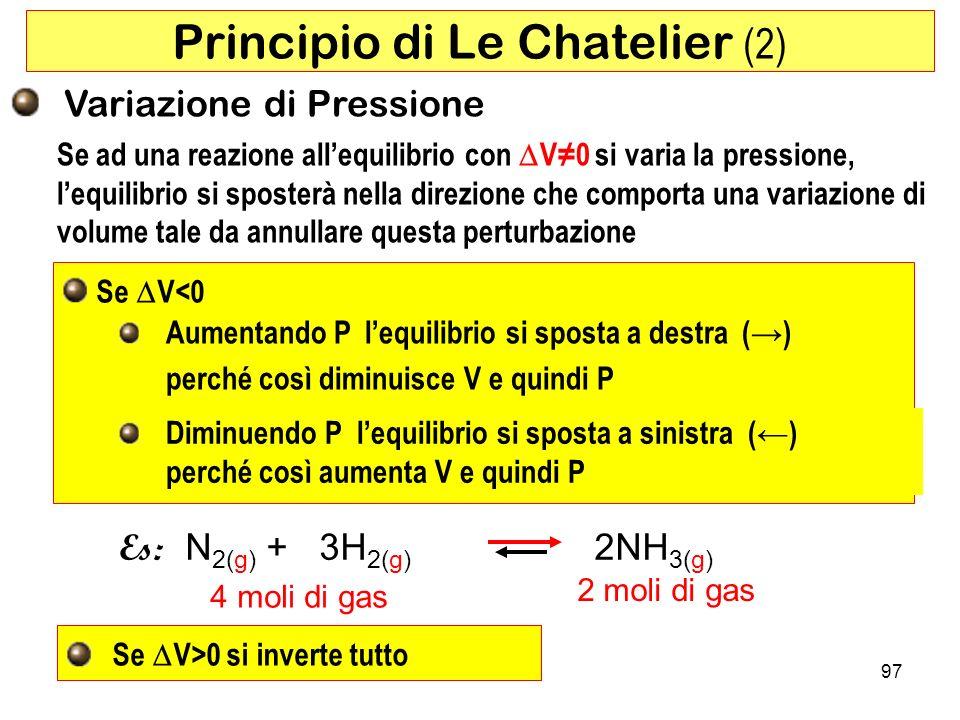 Principio di Le Chatelier (2)