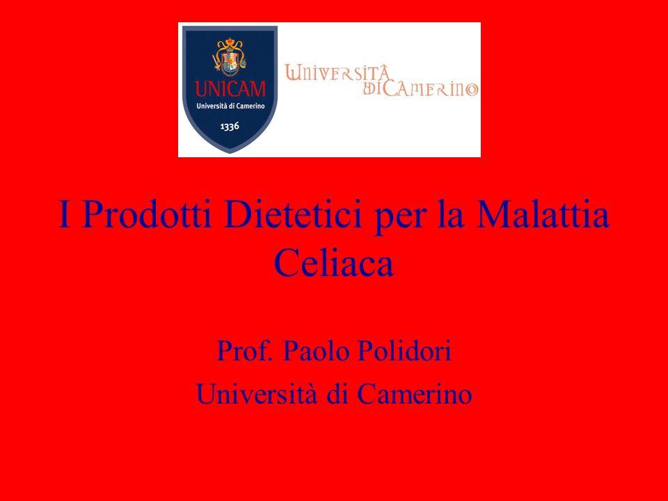 I Prodotti Dietetici per la Malattia Celiaca