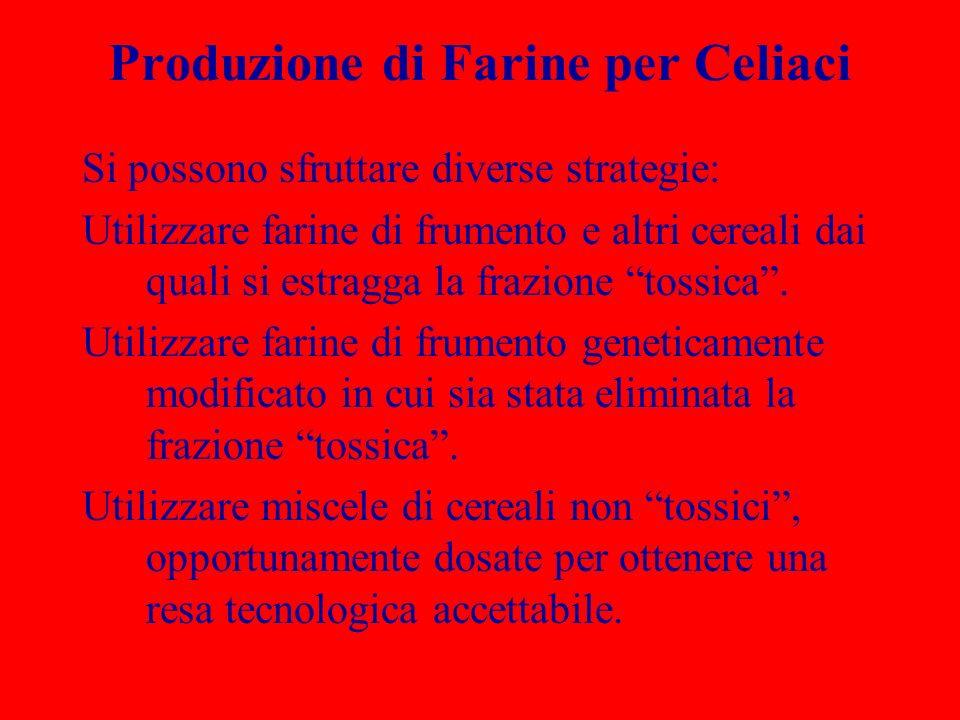 Produzione di Farine per Celiaci